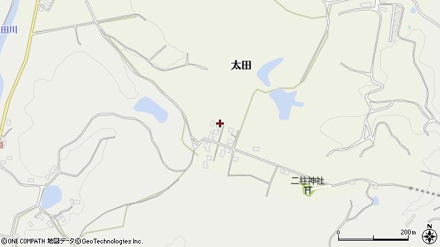 大分県玖珠郡玖珠町太田83周辺の地図