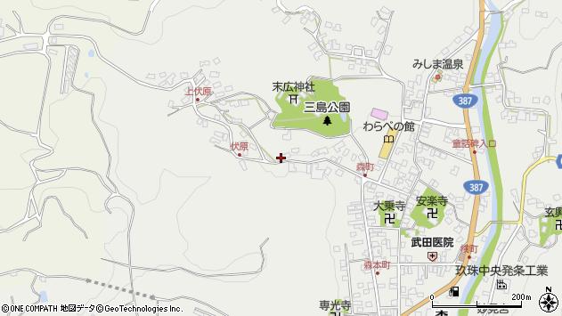大分県玖珠郡玖珠町森903周辺の地図