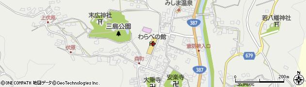 大分県玖珠郡玖珠町森868周辺の地図
