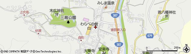 大分県玖珠郡玖珠町森780周辺の地図