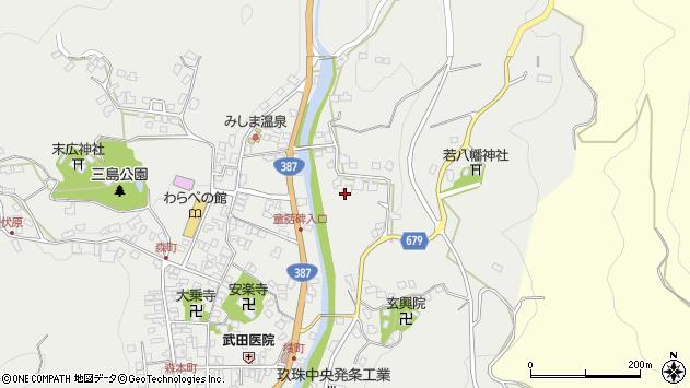 大分県玖珠郡玖珠町森2295周辺の地図
