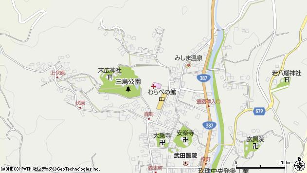 大分県玖珠郡玖珠町森855周辺の地図