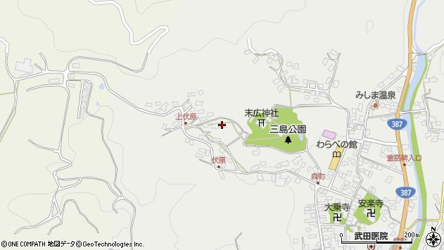 大分県玖珠郡玖珠町森1585周辺の地図