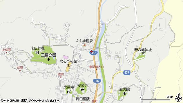 大分県玖珠郡玖珠町森804周辺の地図