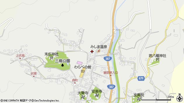 大分県玖珠郡玖珠町森808周辺の地図