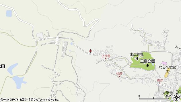 大分県玖珠郡玖珠町森1666周辺の地図
