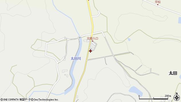 大分県玖珠郡玖珠町太田223周辺の地図