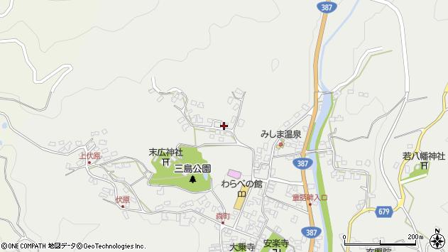大分県玖珠郡玖珠町森1846周辺の地図