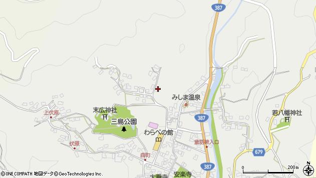大分県玖珠郡玖珠町森1871周辺の地図