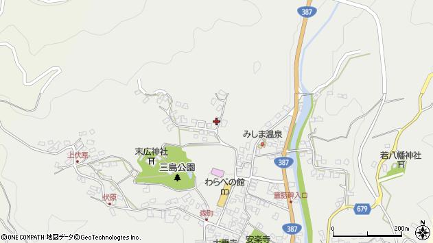 大分県玖珠郡玖珠町森1845周辺の地図