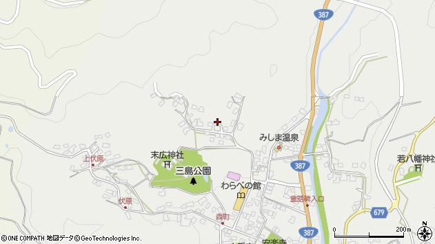 大分県玖珠郡玖珠町森1848周辺の地図