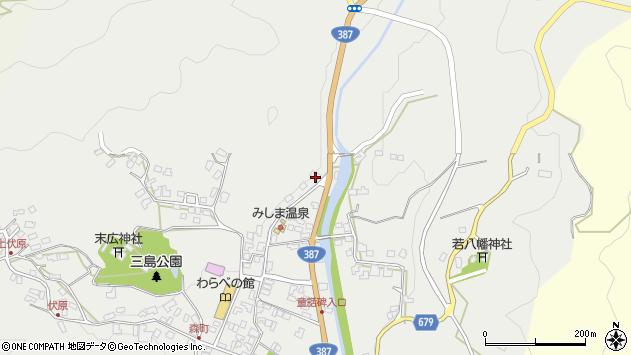 大分県玖珠郡玖珠町森809周辺の地図