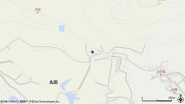 大分県玖珠郡玖珠町太田349周辺の地図