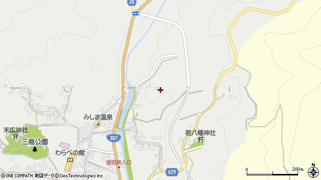 大分県玖珠郡玖珠町森2317周辺の地図