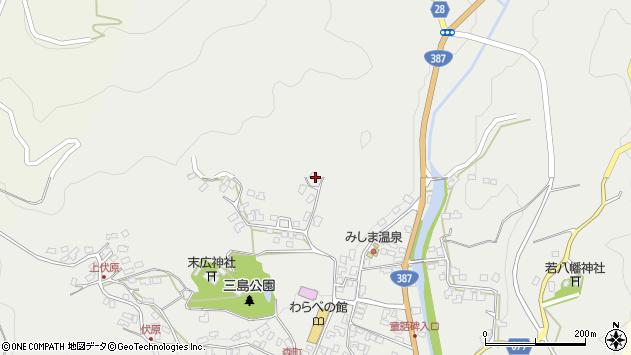 大分県玖珠郡玖珠町森1838周辺の地図