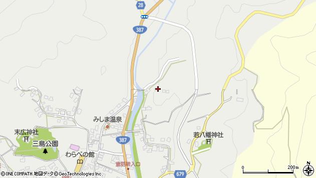 大分県玖珠郡玖珠町森2312周辺の地図