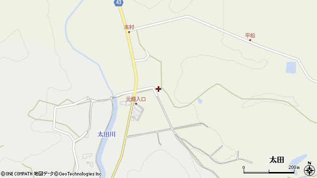 大分県玖珠郡玖珠町太田213周辺の地図