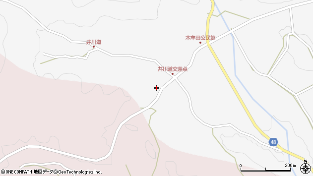 大分県玖珠郡玖珠町戸畑4226周辺の地図