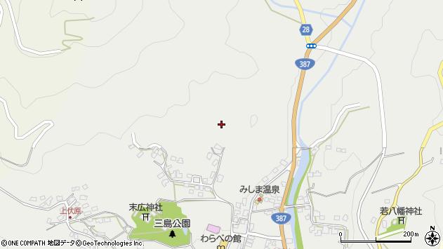 大分県玖珠郡玖珠町森1834周辺の地図