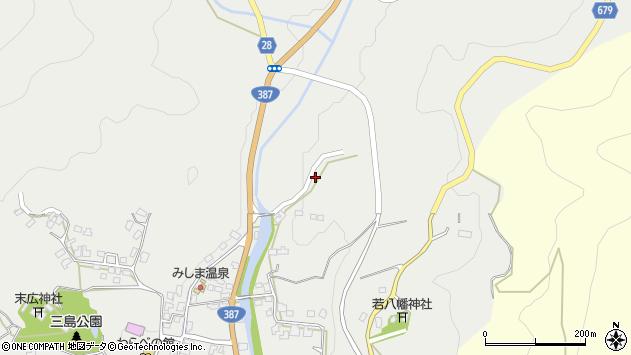 大分県玖珠郡玖珠町森2362周辺の地図