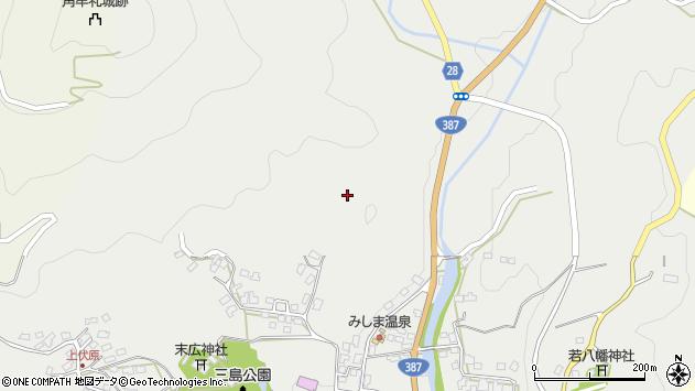 大分県玖珠郡玖珠町森1882周辺の地図