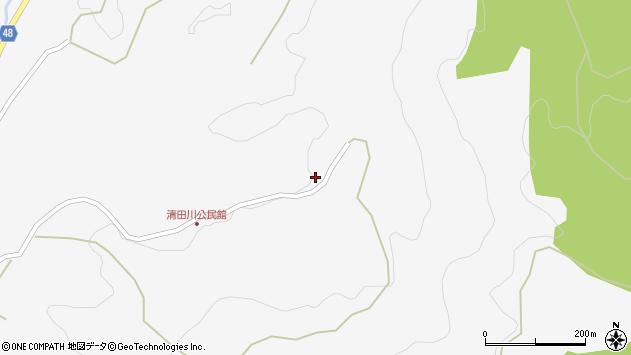 大分県玖珠郡玖珠町四日市2120周辺の地図