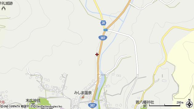 大分県玖珠郡玖珠町森2267周辺の地図