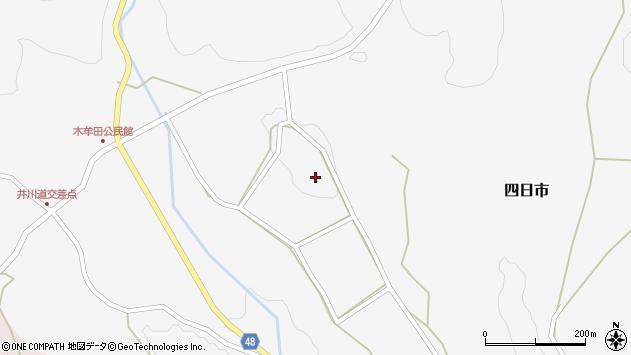 大分県玖珠郡玖珠町四日市2867周辺の地図