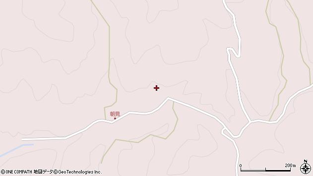 大分県玖珠郡玖珠町戸畑4436周辺の地図