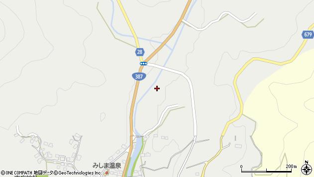 大分県玖珠郡玖珠町森八重垣周辺の地図