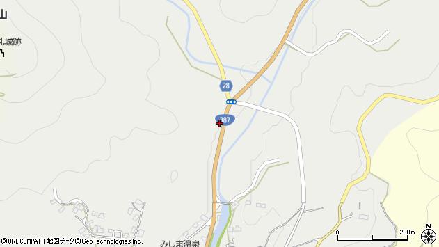 大分県玖珠郡玖珠町森2768周辺の地図