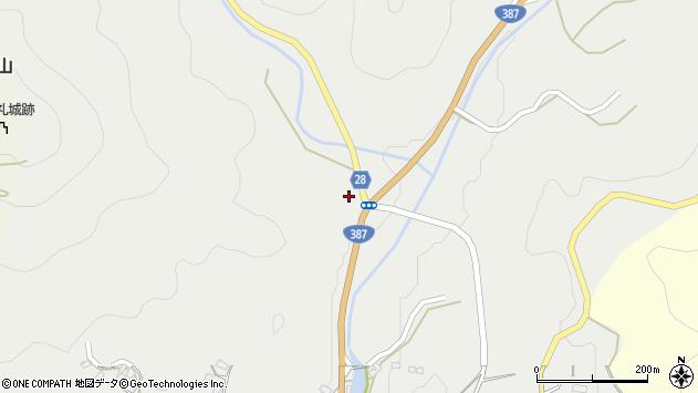 大分県玖珠郡玖珠町森2775周辺の地図
