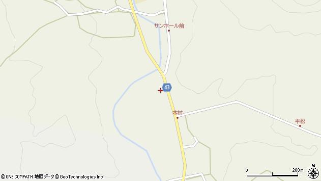 大分県玖珠郡玖珠町太田266周辺の地図