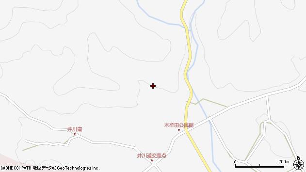 大分県玖珠郡玖珠町四日市3007周辺の地図