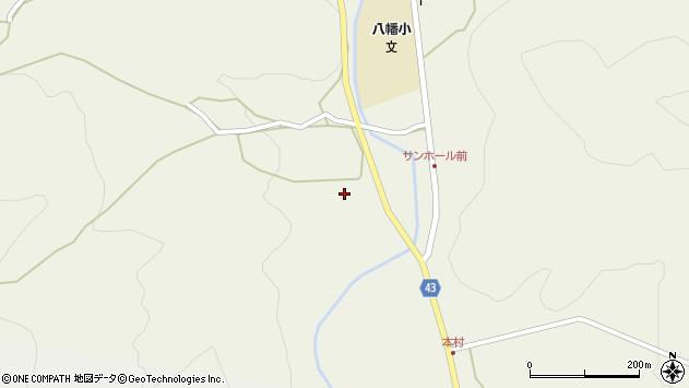 大分県玖珠郡玖珠町太田702周辺の地図