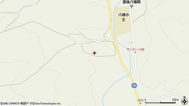 大分県玖珠郡玖珠町太田727周辺の地図