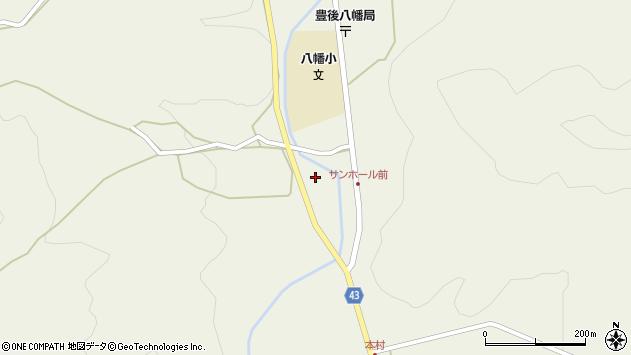 大分県玖珠郡玖珠町太田670周辺の地図