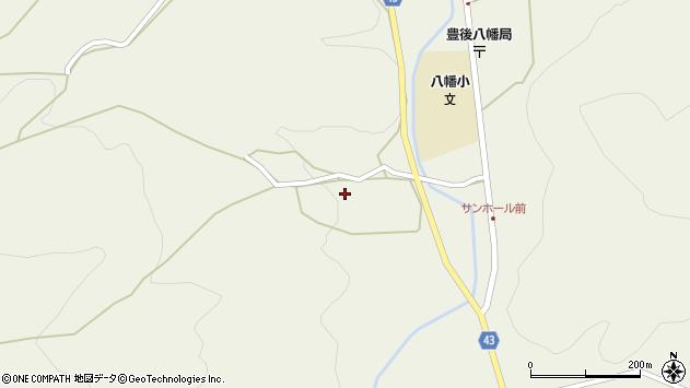 大分県玖珠郡玖珠町太田721周辺の地図