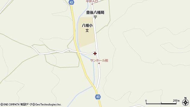 大分県玖珠郡玖珠町太田2296周辺の地図