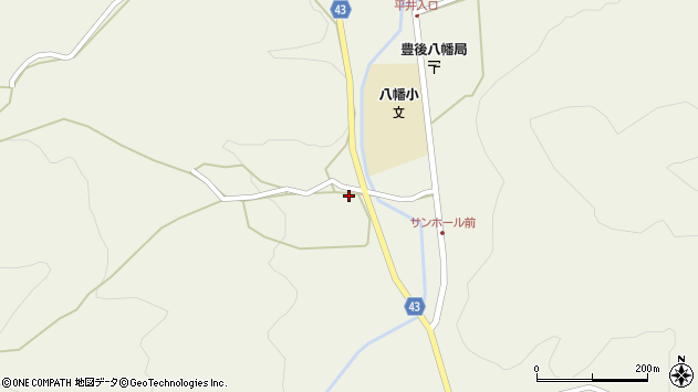 大分県玖珠郡玖珠町太田677周辺の地図