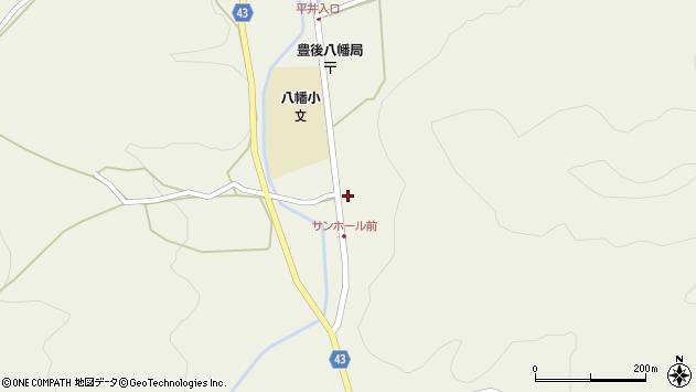 大分県玖珠郡玖珠町太田2298周辺の地図