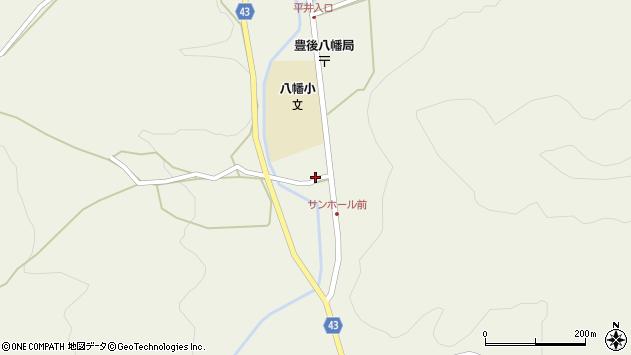 大分県玖珠郡玖珠町太田1458周辺の地図