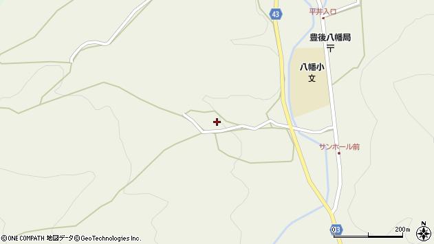 大分県玖珠郡玖珠町太田725周辺の地図