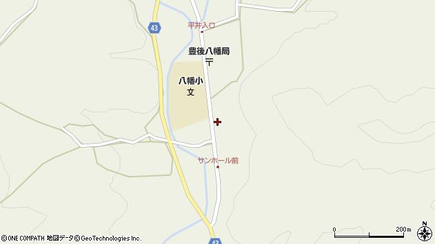 大分県玖珠郡玖珠町太田2293周辺の地図