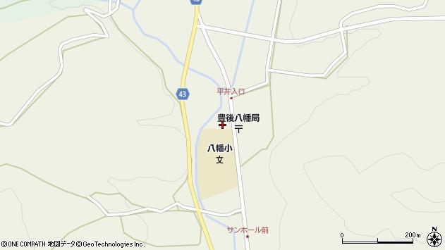 大分県玖珠郡玖珠町太田1456周辺の地図