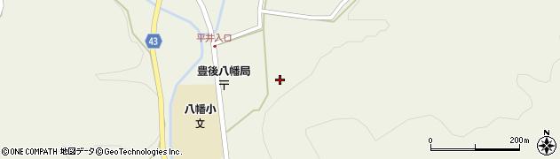 大分県玖珠郡玖珠町太田下組周辺の地図