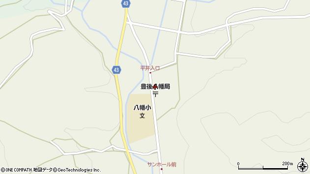 大分県玖珠郡玖珠町太田2277周辺の地図