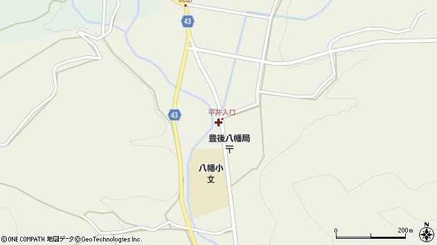 大分県玖珠郡玖珠町太田1471周辺の地図