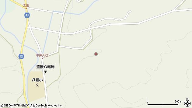 大分県玖珠郡玖珠町太田2357周辺の地図