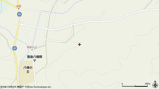 大分県玖珠郡玖珠町太田2371周辺の地図